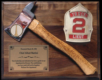 House Gifts station house gifts ax plaques and custom & memorial plaques