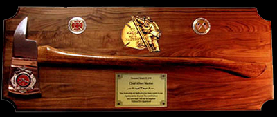& Station House Gifts Ax Plaques and Custom u0026 Memorial Plaques