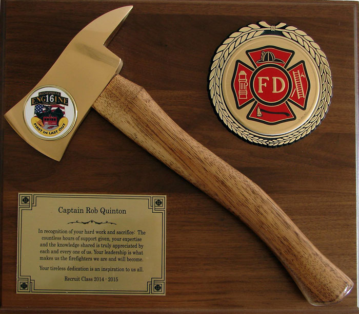 Station House Gifts Affordable Ax Plaques and hand axe Plaques